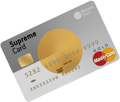 Supreme Gold Card